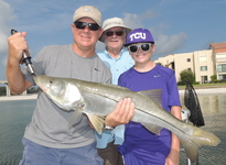 Clearwater Snook fishing
